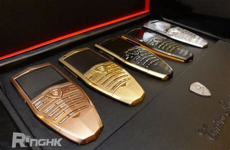 tonino lamborghini luxury cell phones car news top speed
