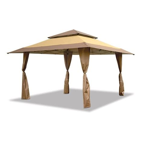 Shade Gazebo Gazebo Standard Top Brown