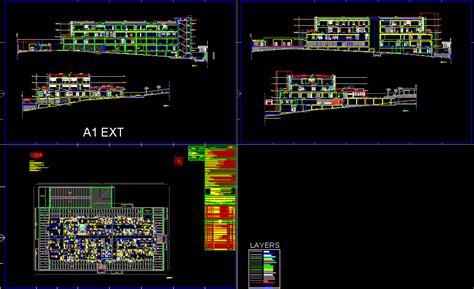 maternity hospital dwg full project  autocad designs cad
