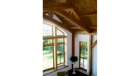 timber frame house  straw bale walls clay floors