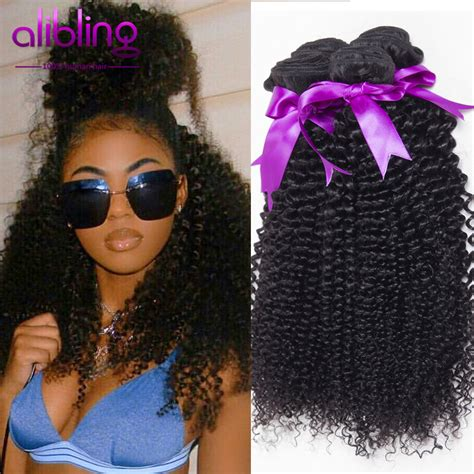 sew in with tightcurls 7a tissage curly pas cher malaysian curly hair 3bundles
