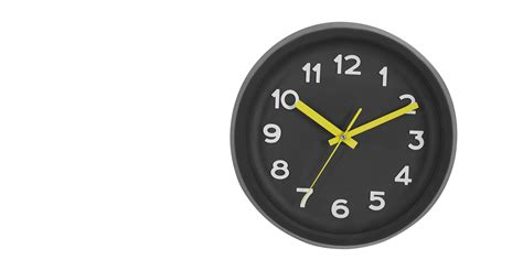 best made wall clock made essentials anke soft touch wall clock black made com