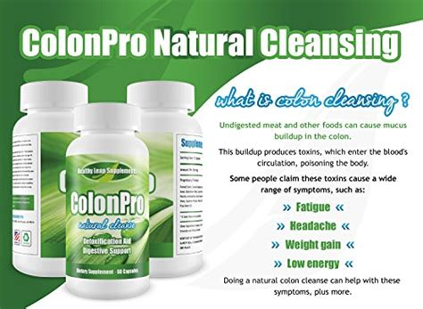 Of The Desert Herbal Detox Formula Reviews by Colonpro Strength Colon Cleanse Maximum