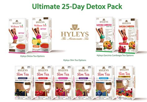 Ultimate Detox Review by Hyleys Ultimate 25 Day Detox Pack Hyleys Tea