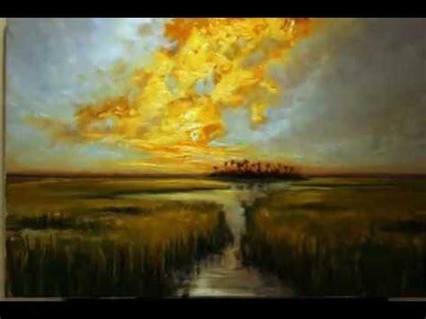 impressionist landscape painting demo  charleston artist