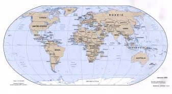 Free World Map by World Maps Free Online