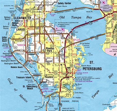 Pinellas Search Map Of Treasure Island Fl Search Results Dunia Pictures