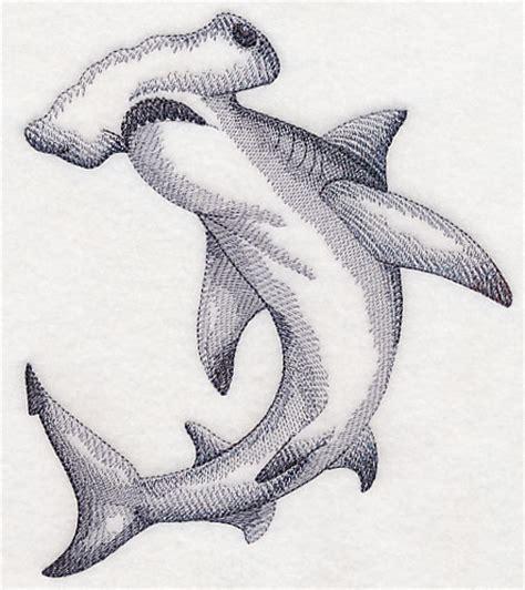 hammerhead shark tattoo hammerhead shark sketch embroidery designs that i