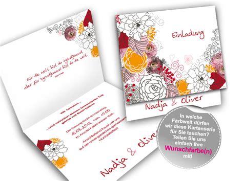 Hochzeitseinladung Vintage Modern by Hochzeitseinladung Modern Vintage Flowers Burgund