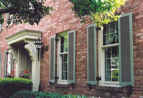shutter colors for brick house vixen hill shutters