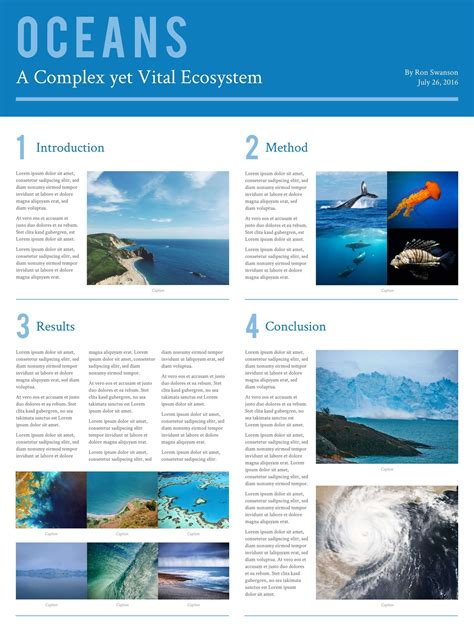 scientific research poster templates examples