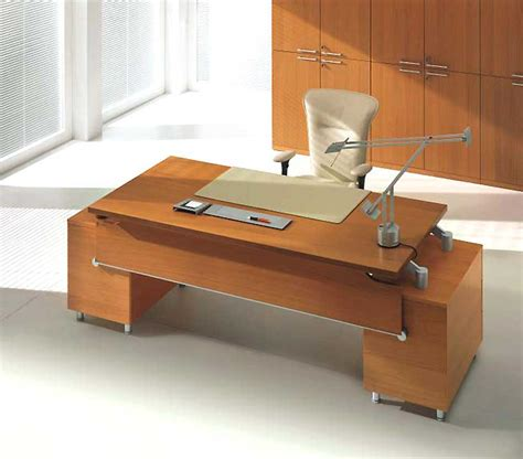 Modern Desk Furniture Modern Executive Office Design And Style