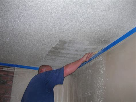 popcorn ceiling removal flickr photo