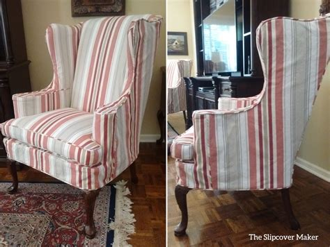 striped chair slipcovers armchair slipcovers the slipcover maker