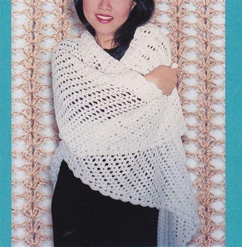 easy shawl d haja easy shawl crochet pattern crocheted triangle lace shawl