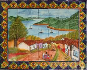 Mexican Wall Murals Mexican Tiles Talavera Tile Murals Toilets Amp Sinks