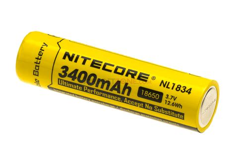 18650 battery 3 7v 3200mah nitecore rechargeable