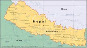 Nepal On The Map by Journey North Mystery Class Spring 2002