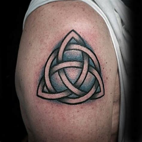 small upper arm tattoos 100 celtic knot tattoos for interwoven design ideas