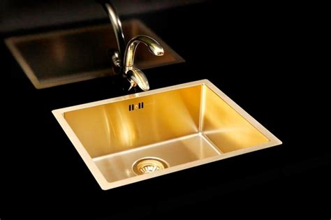 gold kitchen sink gold kitchen sink and tap kitchen sinks east anglia
