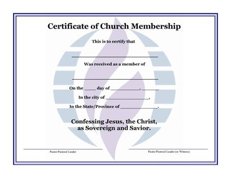 church certificates templates church certificates templates template update234