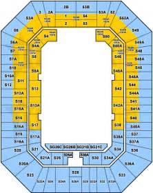 Entertainment Centre Floor Plan Brisbane Entertainment Centre Seating Map Austadiums