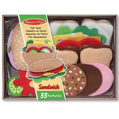 set cuisine enfant set sandwich en feutre jouet de d 238 nette pour enfants 3 ans