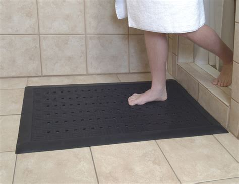 Walk In Shower Mat by Comfort Drainage Mats Are Rubber Drainage Mats American