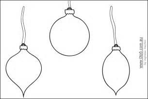 printable ornament shapes this template shows christmas
