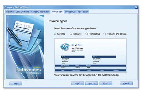 myinvoices estimates 174 deluxe 10 billing software