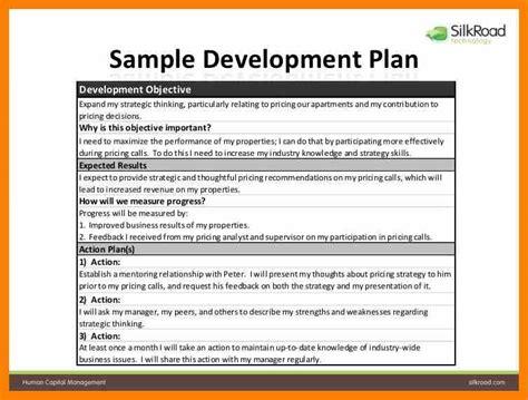 8 employee development plan template nurse homed