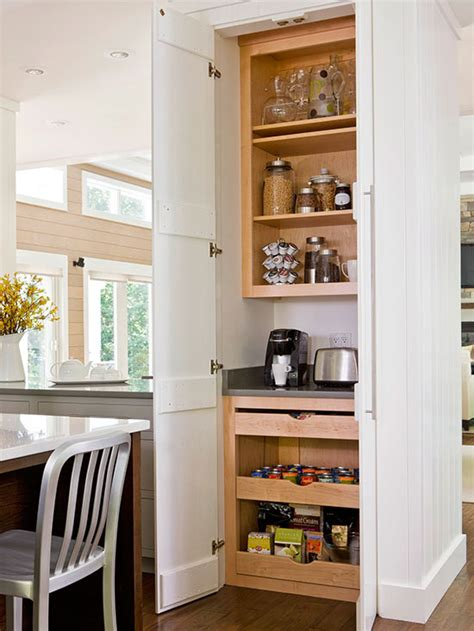 Pantry Station by Walk In And Reach In Pantry Ideas Breakfast Station