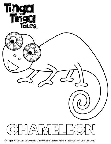 Monkey Wall Sticker tinga tinga colour chameleon scholastic kids club