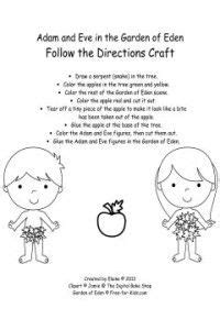 adam  eve  pinterest bible coloring pages bible
