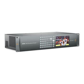 blackmagic design atem 2 m/e broadcast studio 4k ln63984