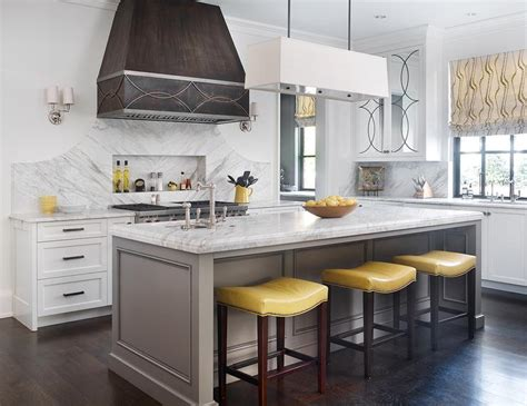 yellow and gray kitchen ideas transitional kitchen