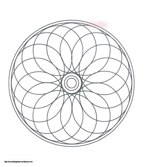 free chakra mandala coloring pages
