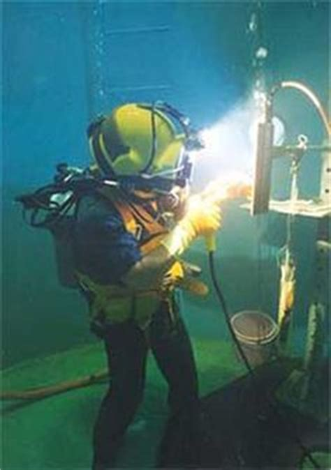 skills required by an underwater welder salary duties