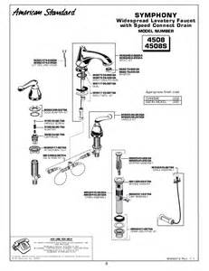 American Standard Faucet Parts List American Standard Widespread Lavatory Faucet Parts List