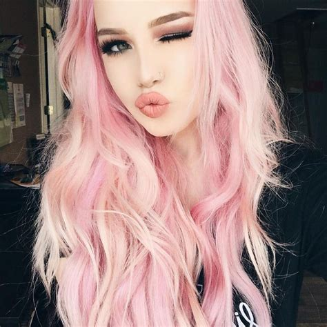 hair pink best 25 light pink hair ideas on pastel pink