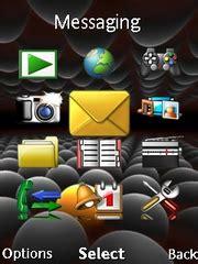 sony ericsson j105i naite themes balls clock theme for sony ericsson mobile phones