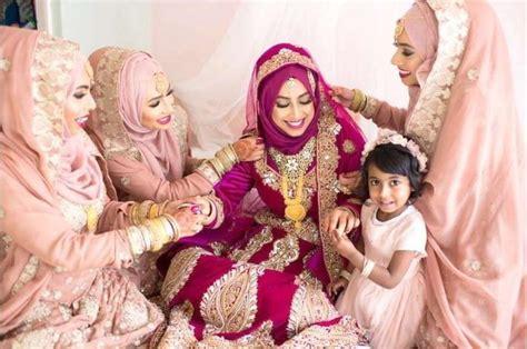 gaun pengantin muslimah berbagai model  pernikahanmu