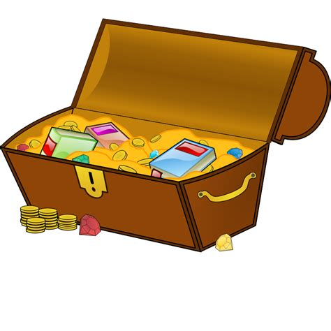 free treasure chest clipart