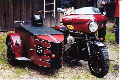 Diesel Motorrad Mit Beiwagen by Moto Guzzi T3 Gespann Mit Eigenbau Boot Motorrad