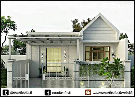 model rumah minimalis sederhana inspirasi keluarga kecil ranah solusi