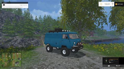 mod game farming uaz 452 offroad v1 0 farming simulator modification