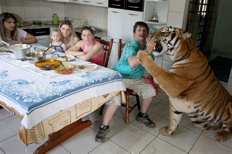photos meet the family who their home with seven
