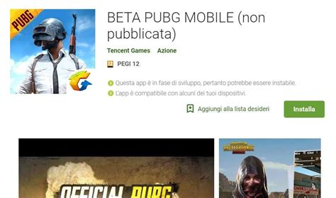 play store mobile pubg mobile beta sbarca nel play store gizblog