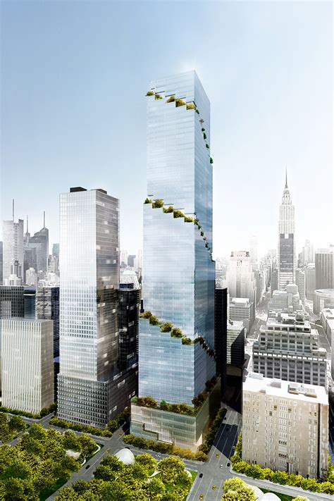 tower ny the spiral office tower in new york by bjarke ingels