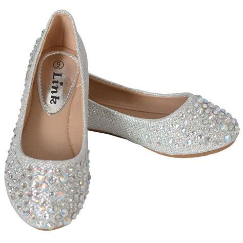 silver rhinestone flat shoes silver iridescent rhinestone sparkle ballet flat shoe